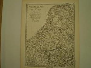 Niederlande und Belgien [+Luxemburg].: STIELER, ADOLF.