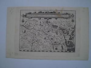 LEODIENSIS EPISCOPATUS DELINEATIO.Amsterdam, Blaeu, 1612