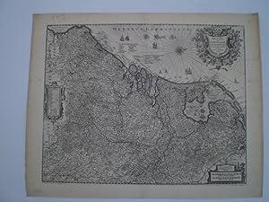 Belgii sive Germaniæ Inferioris accuratissima Tabula.: HONDIUS, H.