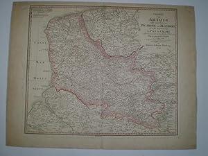 Charte von Artois nebst einem Theile von Picardie und Flandern oder des Departments du Pas de ...