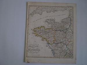 Der nordwestliche Theil von Frankreich nach Ad. St s Angabe gez. vom. L. v. Stülpnagel. 1824.:...