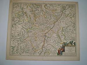 Landgraviatus Alsatiæ Inferiores Novissima Tabula, in qua simul Marchionatus Badensis, ...