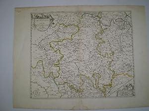 Champaigne et Brie.Waterstain in lower margin: SANSON, NICOLAS.