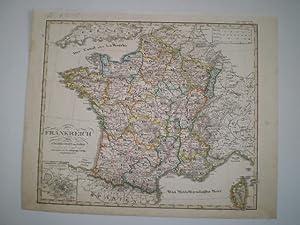 Frankreich und umgebungen von Paris entw. u. gez. von F. v. Stülpnagel 1829. Neu gestochen ...