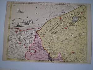Carte Particuliere des Environs de Dunkerque, Bergues, Furnes, Gravelines et autres.: FRICX, EUGENE...