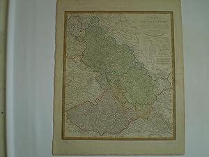 Charte von Schlesien und Mæhren.: GÜSSEFELD, FRANZ LUDVIG.