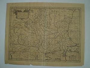 WALACHIA, SERVIA, BULGARIA, ROMANIA.Gerhard Mercator, nach b. Oxford, 1680