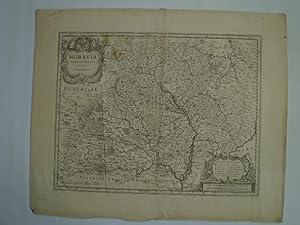 Moravia Marchionatvs.: BLAEU, WILLEM.