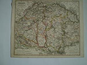 Ungarn und ein Theil von Siebenbürgen nach Ad. St s Angabe entw. u. gez. von F. v. Stü...