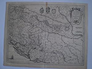 Sclavonia, Croatia, Bosnia cum Dalmatiæ Parte. Auct. Ger. Mercatore. apud Guiljel Blaeu.: ...