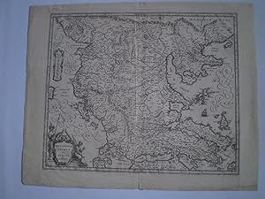 Macedonia, Epirus et Achaia. G.Blaeu exc.: BLAEU, W.