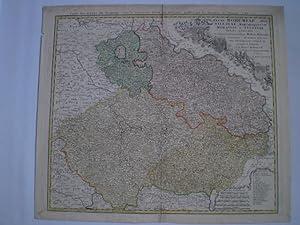 Regni Bohemiae, Dvc Silesiae, Marchionatvvm Moraviae et Lvsatiae Tabula Generalis. - Carte des ...