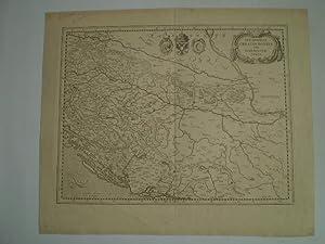 Sclavonia, Croatia, Bosnia cum Dalmatiæ Parte.: MERCATOR, GERARD.