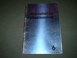 Internationale Situationniste, No. 6, Aout 1961