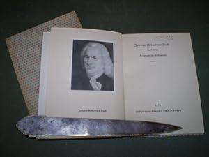 Johann Sebastian Bach 1685-1750. Biographische Dokumente.,: Bach, Johann Sebastian