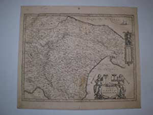Terra de Bari et Basilicata. 38,5x49,5 cm. Amsterdam. No date. [First half of the 17th century]. ...