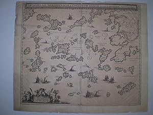 Archipelagi Meridionalis, seu Cycladum Insularum accurrata delineata. No margins of the engraving ...
