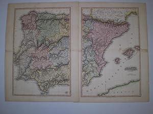 Spain.: NEELE, S. & G.