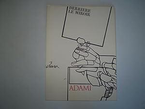 Derrière le Miroir no. 214. Le voyage du dessin., Texte par Jacques Deridda: Adami Valerio