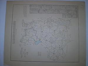 Kort over Borup og Kimmerslöv Pastorat.: STERM, SEVERIN.
