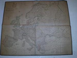 Charte von Europa in 4 Blaettern.: GEOGRAPHISCHES INSTITUT WEIMAR.