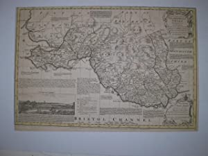 An Accurate Map of Glamorganshire Drawn from an Actual Survey with Various Improvements.: KITCHIN, ...