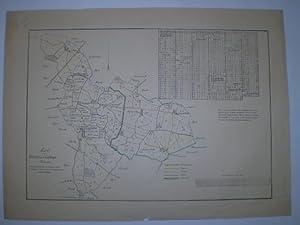 Kort over Kirkesyv og Gadstrup Pastorat.: STERM, SEVERIN.