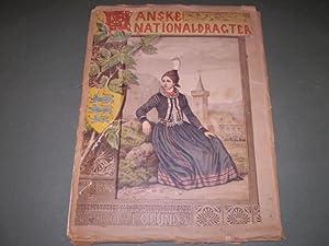 Danske Nationaldragter. Tegnede af F.C. Lund. Med text af Vilhelm Bergsøe: F.V.Lund, Vilhelm...