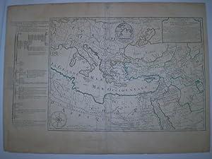 Orbis Bibliis Sacris cognitus Seu. Geographia Sacra Carte de la Geographie Sacrée pour l&#...