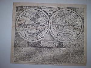 Plani Globii Terrestris Carta Generalis.: PELT, FRIDERICH CHRISTIAN.