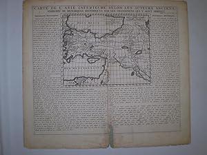 Carte de L Asie Inferieure selon les Auteurs Anciens enriche de Remarques Historiques sur les ...
