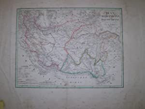 Iran Afghanistan und Beludschistan.: WEILAND, C.F.