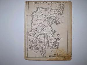 Kort over Øen Celebes eller Macassar til den almindelige Reisebeskrivelse.: BELLIN, M.