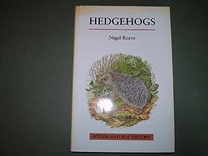 Hedgehogs: Reeve, Nigel