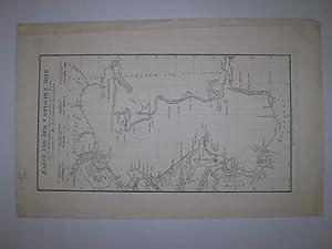 Karte von dem Caspischen Meer.'Allgemeiner Grosser Schrämblischer Atlass, mit Titel und 4...