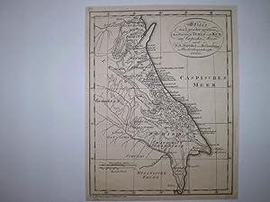 Skizze der Laender zwischen den Flüssen Terek und Kur am Caspischen Meere nach F.A. Marschal ...