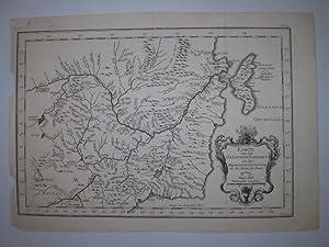Karte von der Ostlichen Tartarey Zu der allgemeine Reisebeschreibung aus den Karten der Jesuite. ...