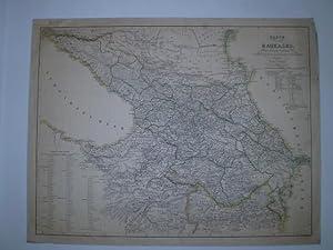 Karte des Kaukasus nach den neuesten Aufnahmen des Kaiserlich Russischen Generalstabes.: SCHROPP, S...