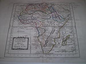 L'Afrique Suivant les dernieres Memoires de J.B.Nolin Geographe du Roi: J.B.Nolin