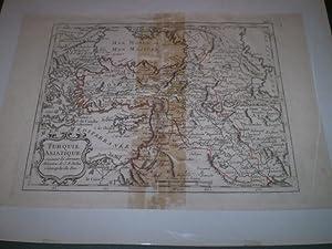 Turquie Asiatique Suivant les dernieres Memoires de J.B.Nolin Geographe du Roi: J.B.Nolin