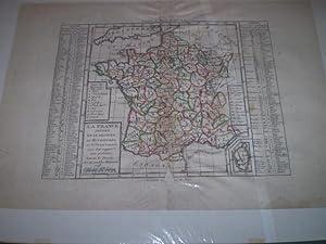 La France divise en IX Regions IO Metropoles et 85 departements avec leur rapport aux provinces ...