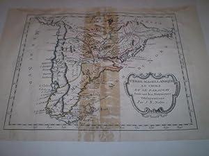 Terre Magellaniques le Chili et le Paraguay Suivant les dernieres Observations Par J.B.Nolin: ...