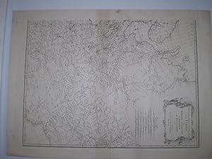 Zweiter Theil der Karte von Europa, welcher Daenemark und Norwegen, Schweden und Russland enthalt (...
