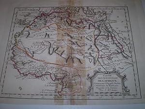 Parte Septentrionale de L'Afrique Contenant l'Egipte, Nubie, l'Abessininie, la ...