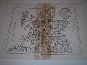 Royaume dE Cosse Divisee en Provinces Suivant les Nouvelles Observations Par J.B.Nolin: J.B.Nolin