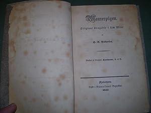 Maurerpigen. Original Tragedie i fem Akter.: H.C.Andersen