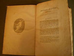 Pierres gravées inédites (tirées des plus célèbres cabinets de l...