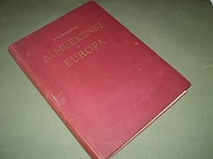 Almuekunst i Europa. Ca. 1900 Afbildninger af den europæiske Almuekunsts Frembringelser med s...