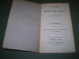 R. Rasks danske Sproglære fra engelsk oversat af H.K. Rask.: RASK, RASMUS