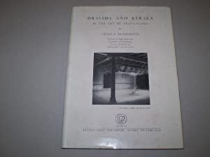Dravida and Kerala in the Art of Travancore.: KRAMRISCH, STELLA